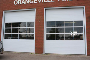 All-Mont commercial Double commercial garage doors | Orangeville Garage Door Experts