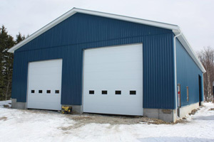 All-Mont commercial jobs garage double door | Orangeville Garage Door Experts