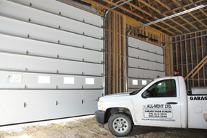All-Mont commercial jobs interior | Orangeville Garage Door Experts
