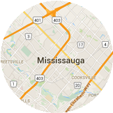 Map Mississauga