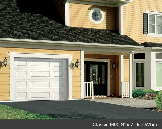 Classic Mix Design From Garaga Garage Doors