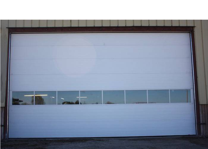 "G-5000, G-5138, G-5200, 24' x 13'6"", Ice White, Full Vision windows"